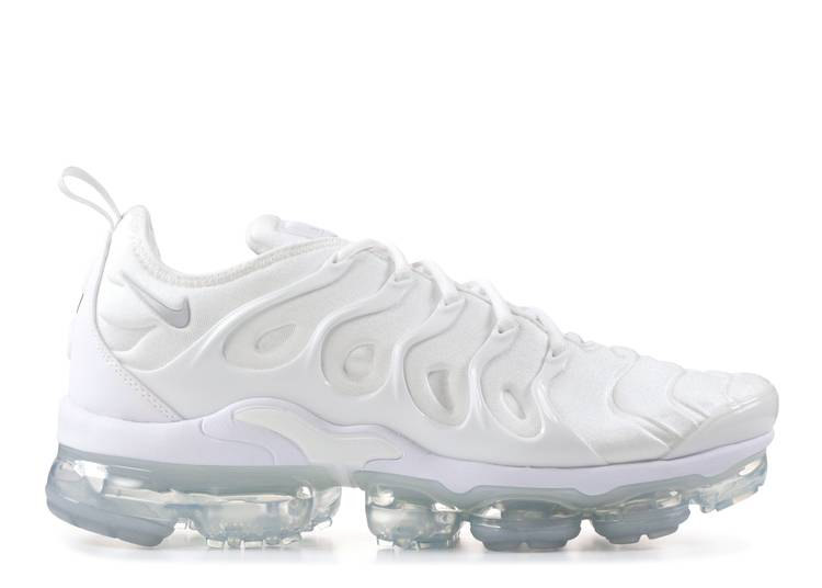 "air vapormax plus ""triple white """
