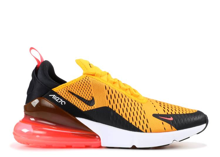 Air Max 270 Tiger Nike Ah8050 004 Black University Gold