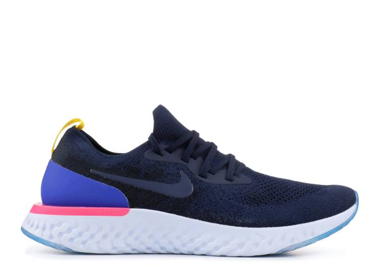 Epic React Flyknit 'College Navy'