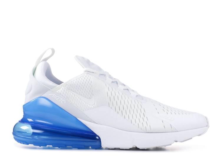 Air Max 270 White Photo Blue Nike Ah8050 105 White White Photo Blue Flight Club