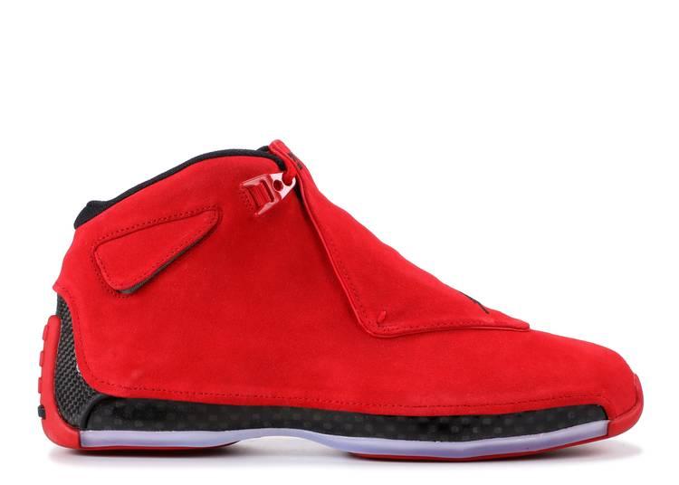 "Air Jordan 18 Retro ""red suede"""