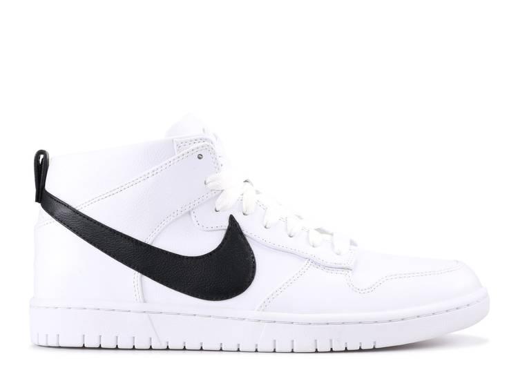 Riccardo Tisci x NikeLab Dunk Lux Chukka 'White Black'
