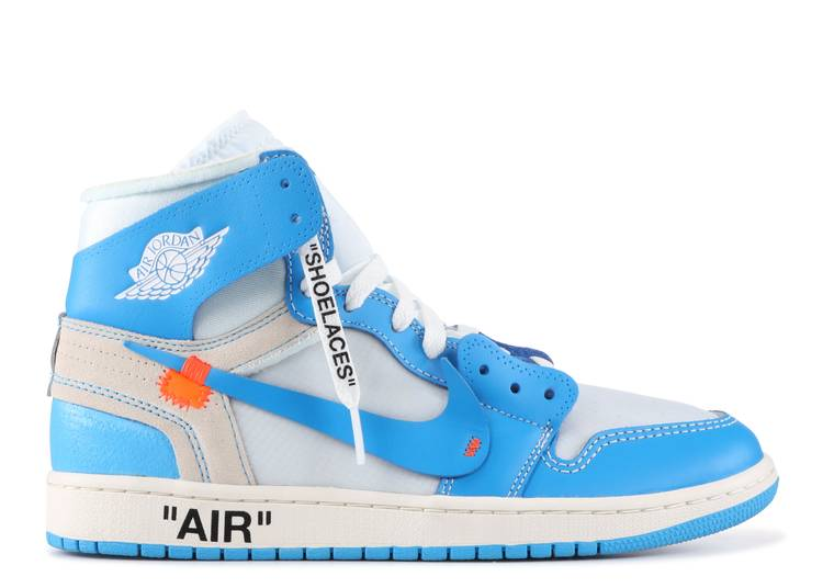 Off-White x Air Jordan 1 Retro High OG 'off white unc'