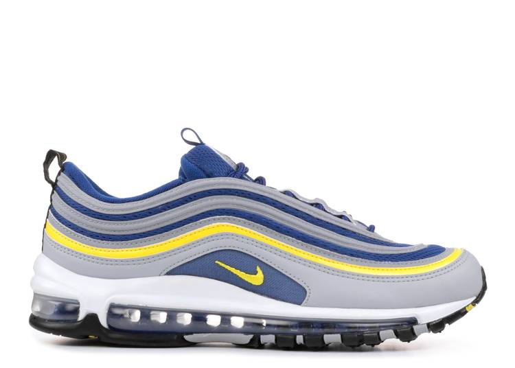 Por perspectiva Cuestiones diplomáticas  Air Max 97 'Tour Yellow' - Nike - 921826 006 - wolf grey/tour yellow-gym  blue-black | Flight Club