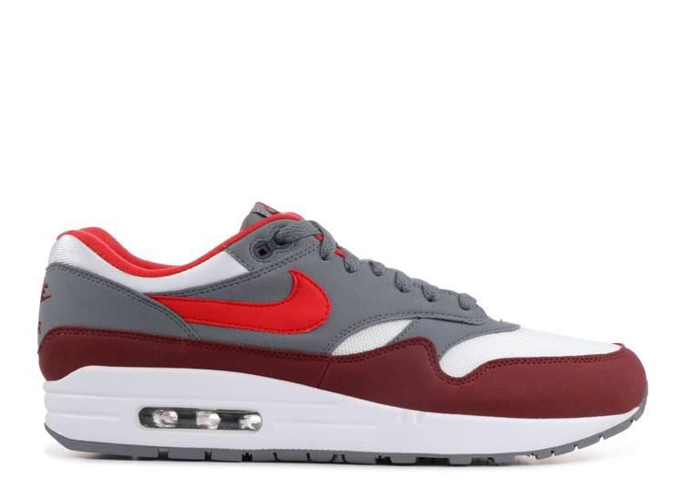 air max 1 red grey