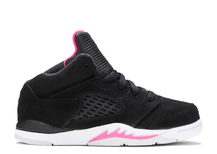 Air Jordan 5 Retro TD 'Black Pink'