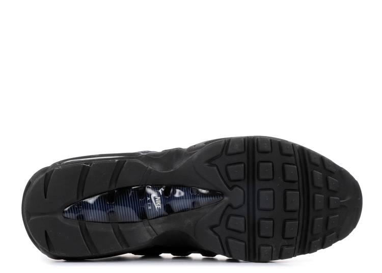 Buscar a tientas velocidad Educación  Nike Air Max 95 Essential 'Navy Blue' - Nike - 749766 028 - black/navy blue-pure  platinum-obsidian | Flight Club