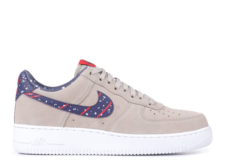 Fede cieca posteriore completo  Air Force 1 Low A 'Moon Landing' - Nike - AQ0556 200 - moon  particle/neutral indigo-white | Flight Club