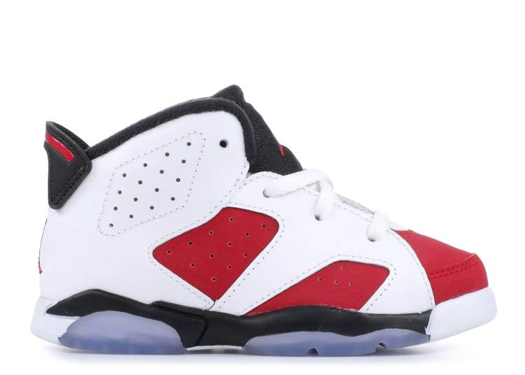 Air Jordan 6 Toddler 'Carmine'