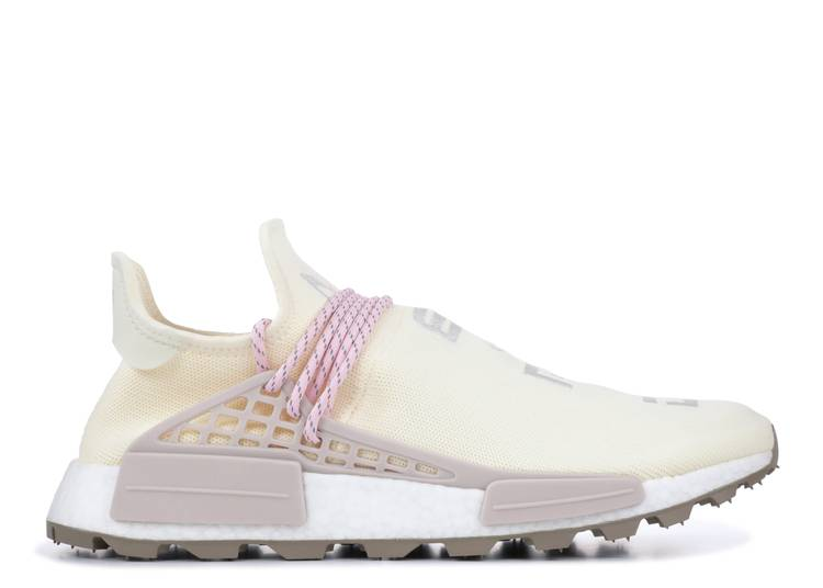 Pharrell X N E R D X Nmd Human Race Trail Cream Adidas Ee8102 Cream Pink Flight Club