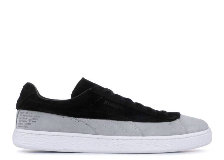 Stampd x Suede Classic 'White Black'