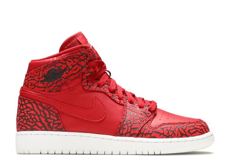 """Air Jordan 1 Retro Hi Prem BG """"Red Elephant"""""""
