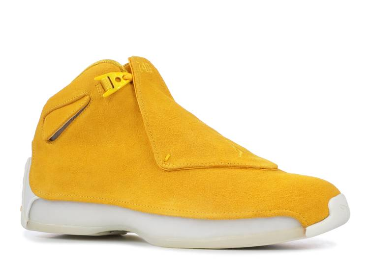 air jordan 18 retro yellow suede