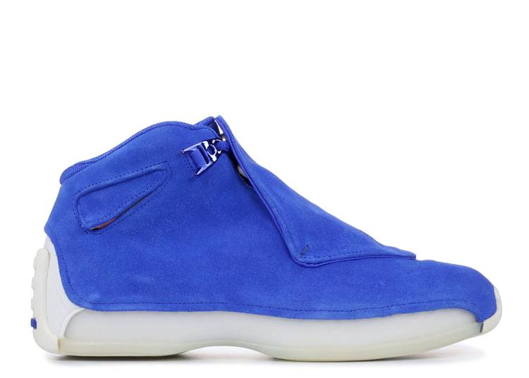 Air Jordan 18 Retro 'Blue Suede'