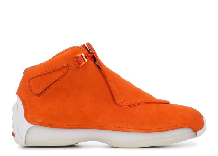 Air Jordan 18 Retro 'Orange Suede'