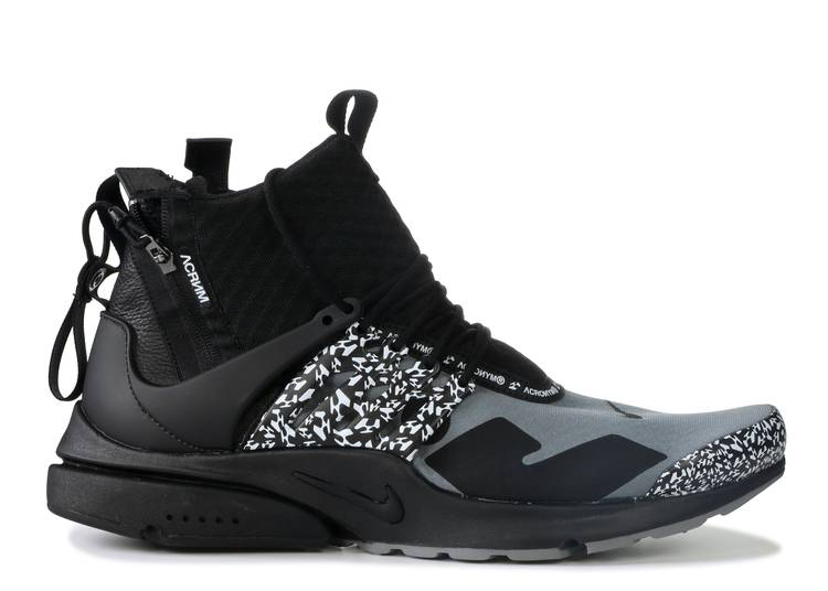 Acronym x Air Presto Mid 'Cool Grey'