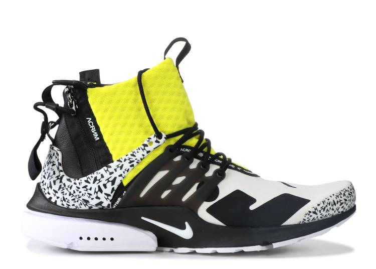 Acronym x Air Presto Mid 'Dynamic Yellow'