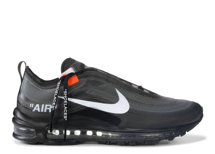 OFF-WHITE x Air Max 97 'Black'