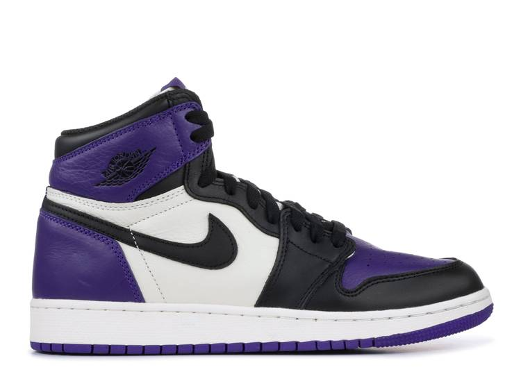 Air Jordan 1 Retro High OG GS 'Court Purple'