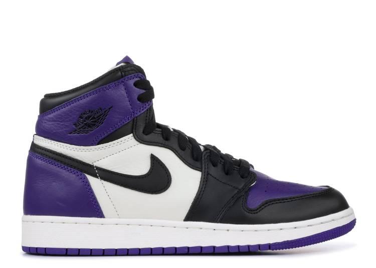 "air jordan 1 retro high og gs ""Court Purple"""