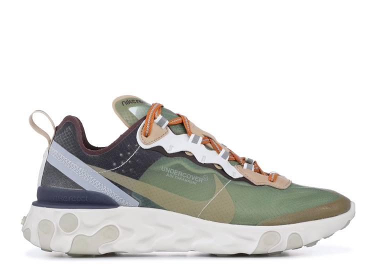 Paesaggio valigia Ballerino  Undercover X React Element 87 'Green Mist' - Nike - BQ2718 300 - green  mist/linen-summit white-deep burgundy-black | Flight Club