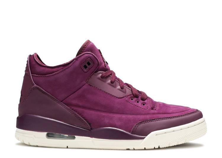 Wmns Air Jordan 3 Retro 'Bordeaux'