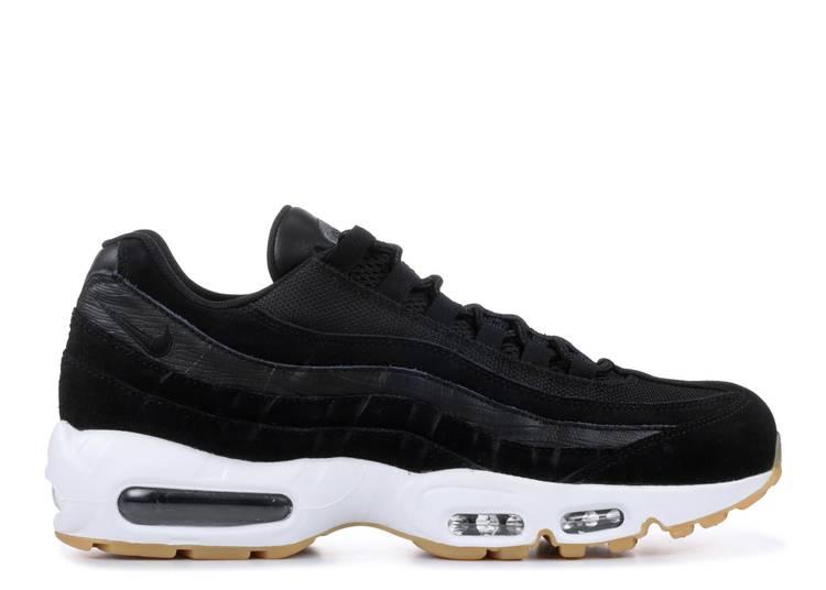 promoción Respecto a cigarro  Air Max 95 Premium 'Exotic Skins' - Nike - 538416 016 - black/black-dark  grey-white | Flight Club