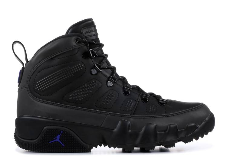Air Jordan 9 Retro Boot NRG 'Black Concord'