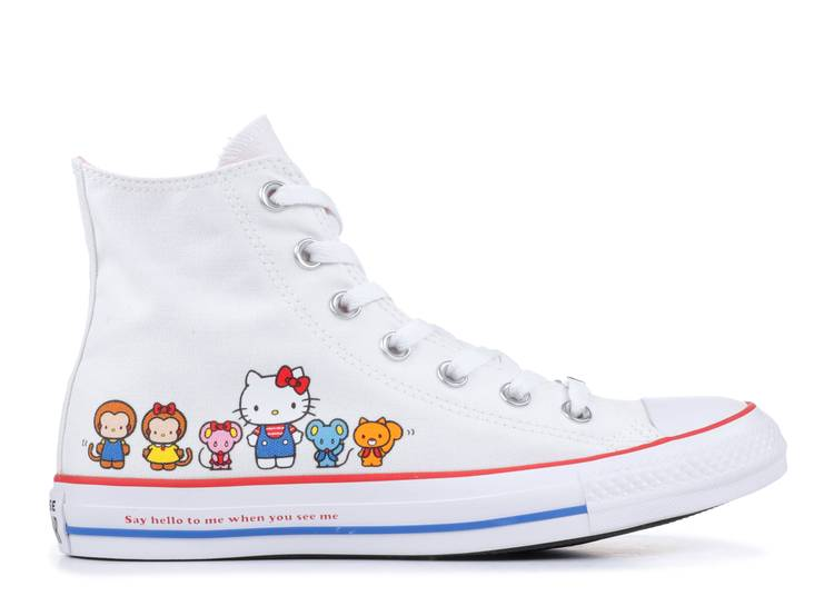 Hello Kitty x Chuck Taylor All Star Canvas Hi 'White'