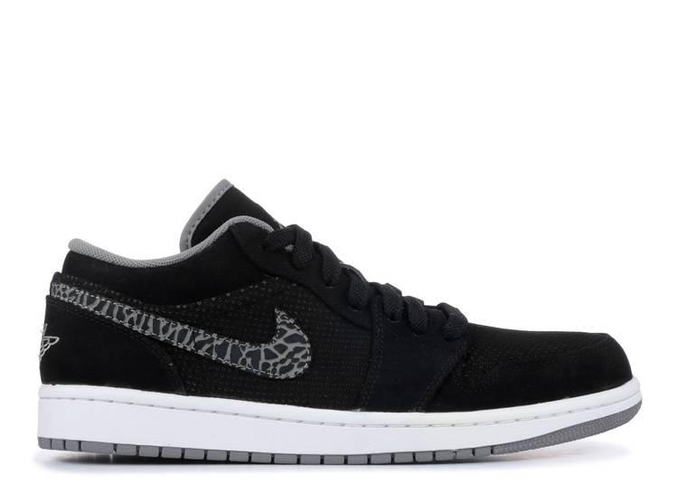 Air Jordan 1 Phat Low 'Black Charcoal'