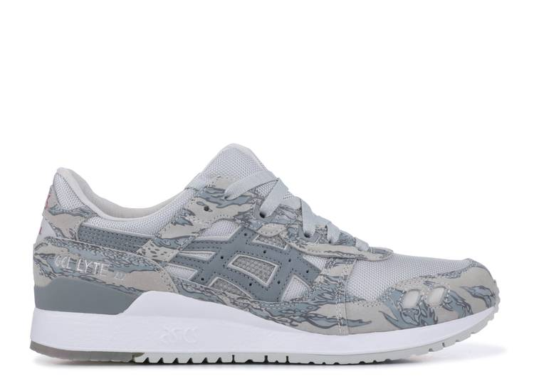 atmos x Solebox x Gel Lyte 3 'Tiger Urban Camo'