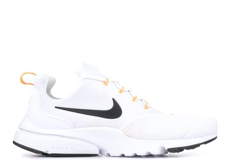 Sencillez Oposición Estadísticas  Presto Fly 'Just Do It' - Nike - AQ9688 100 - white/black-total orange |  Flight Club