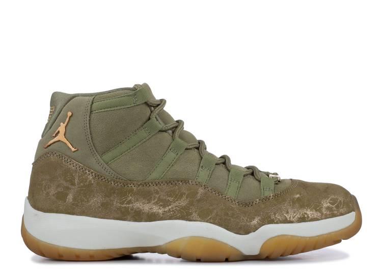 Wmns Air Jordan 11 Retro 'Olive Lux'