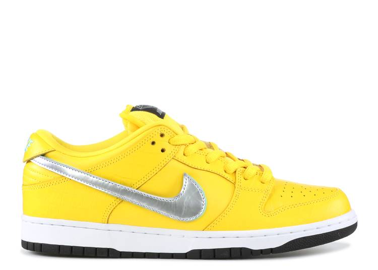 "nike sb dunk low pro og qs ""Canary Diamond"""