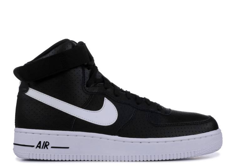 Air Force 1 High GS 'Black White'