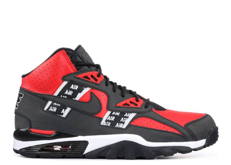 "Nike Air Trainer SC High SOA ""Speed Red"""