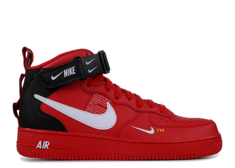 Air Force 1 Mid '07 LV8 'Overbranding'