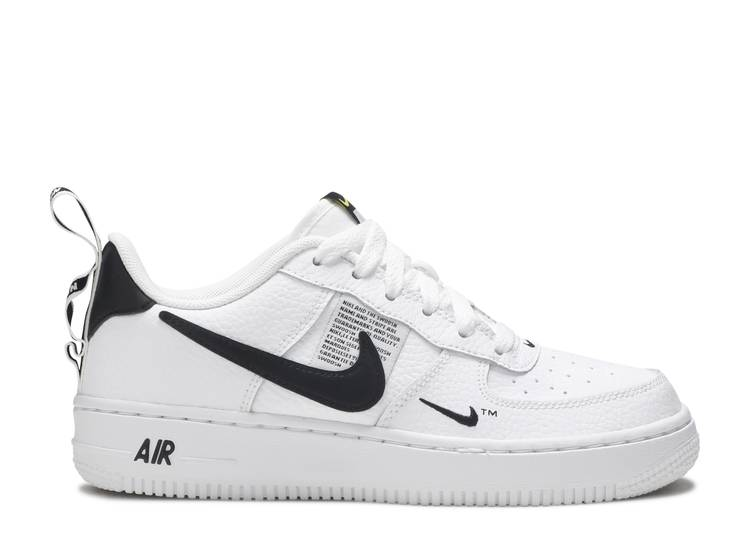 "air force 1 lv8 utility (gs) ""Overbranding"""