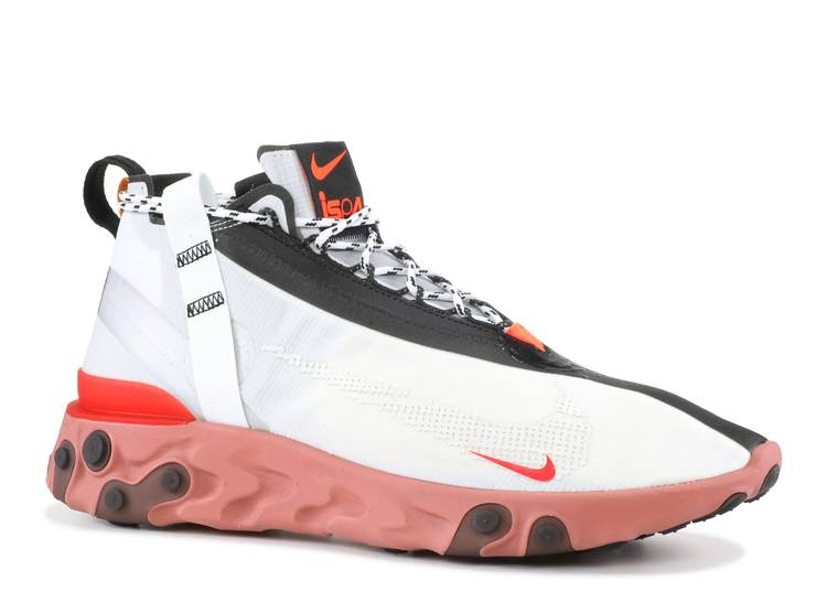 Haiku Productivo uvas  React Runner Mid WR ISPA 'Summit White' - Nike - AT3143 100 - summit white/off  white-light crimson | Flight Club