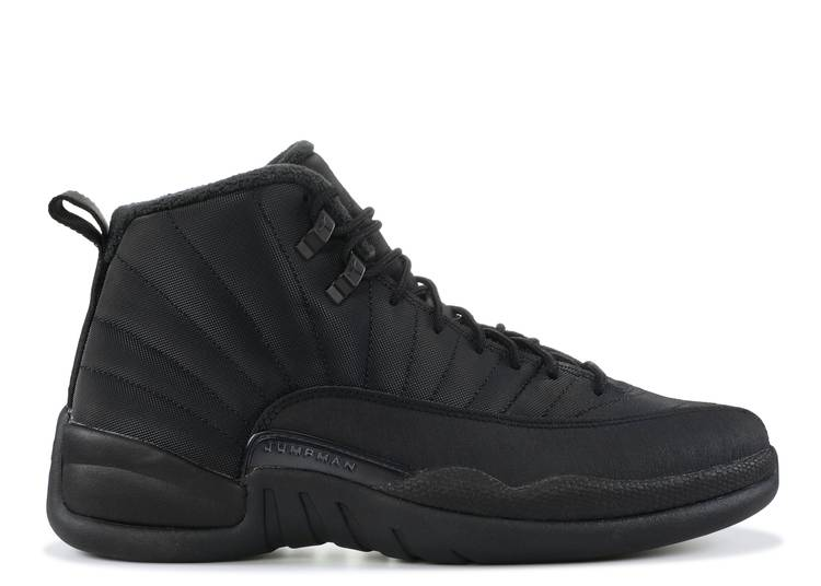Air Jordan 12 Retro Winterized 'Triple Black'