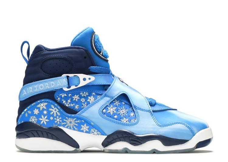 Air Jordan 8 Retro GS 'Snowflake'