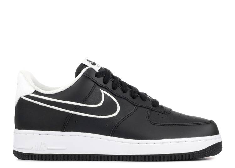 Air Force 1 '07 Leather 'Black'