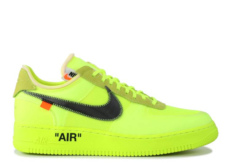 "the 10: nike air force 1 low ""off white"""