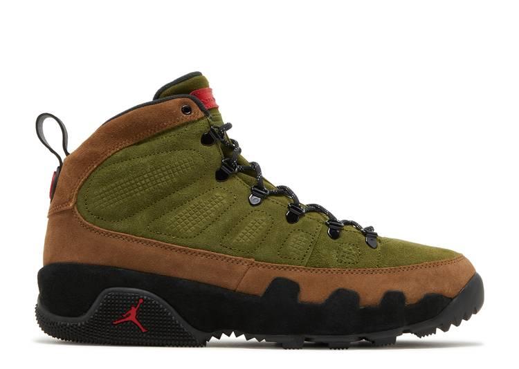 "Air Jordan 9 Retro Boot NRG ""Beef and Broccoli"""