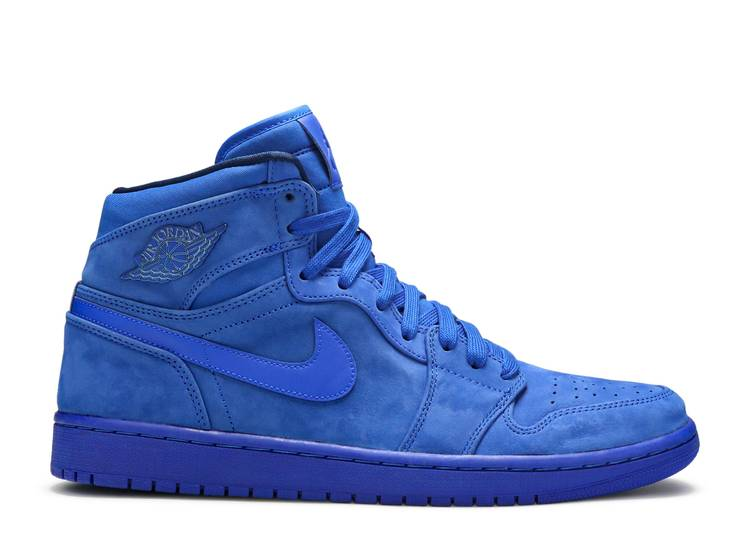 Wmns Air Jordan 1 Retro High Premium 'Blue Suede'