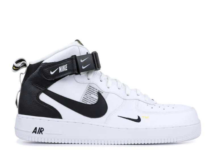 Air Force 1 Mid '07 LV8 'White Black'