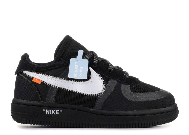 OFF-WHITE x Air Force 1 Low TD 'Black'