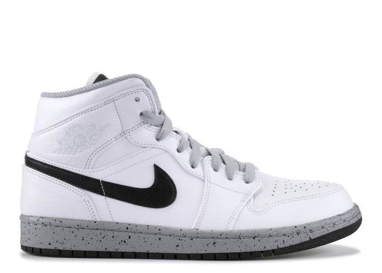 Air Jordan 1 Mid 'White Cement'