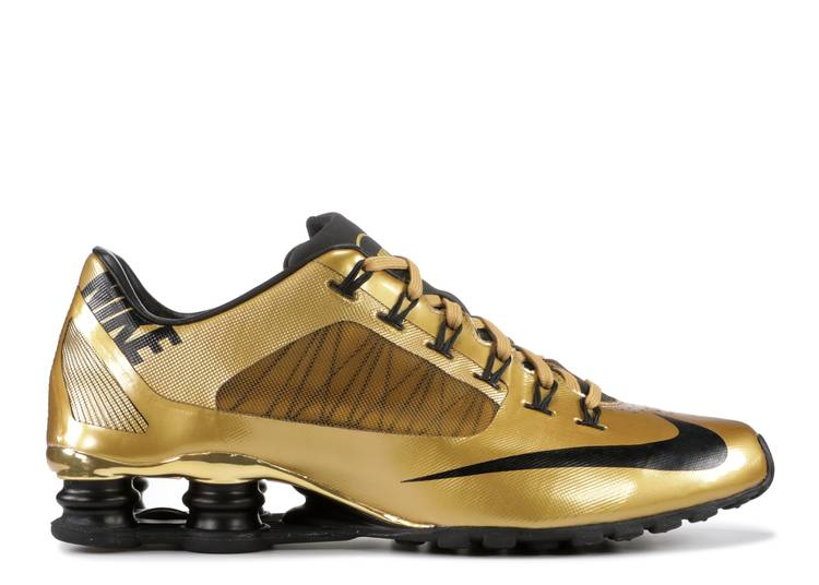 Shox Superfly R4 'Metallic Gold' Sample