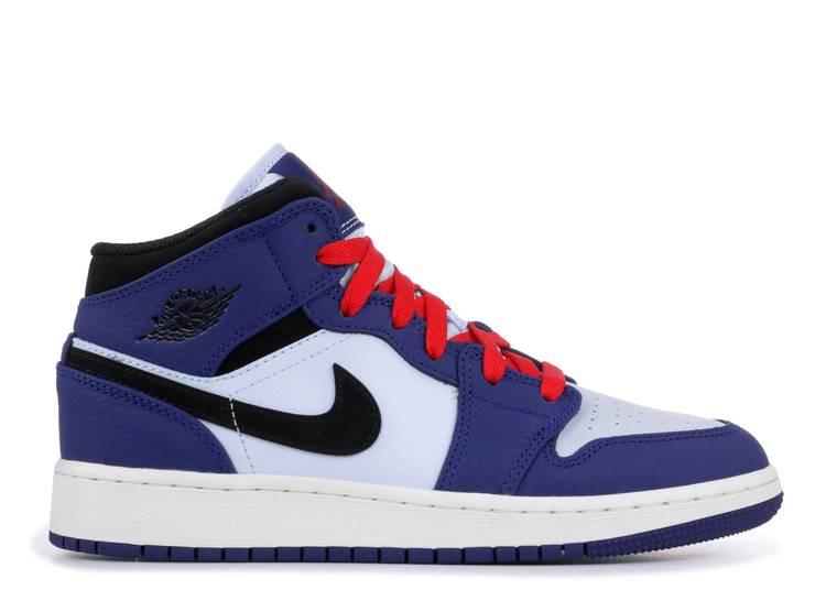 Air Jordan 1 Mid SE GS 'Deep Royal'
